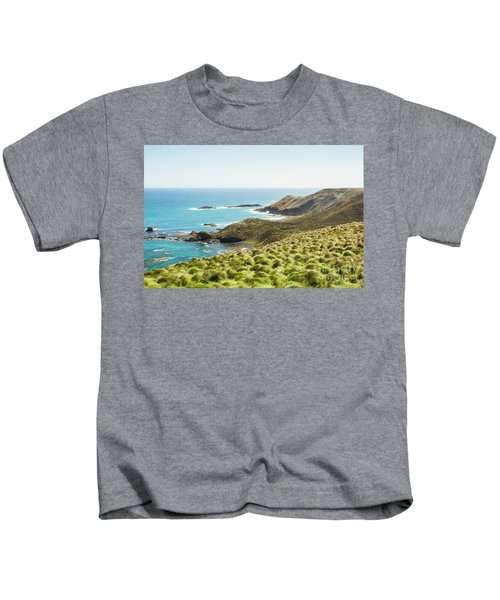 Cliffs And Capes Kids T-Shirt
