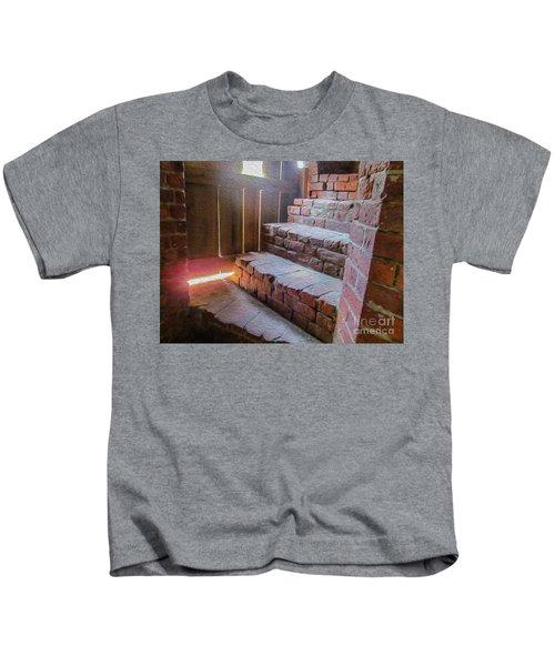 Climb The Brick Steps Of Time Kids T-Shirt