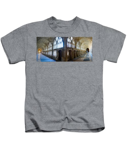 Cloisters, Gloucester Cathedral Kids T-Shirt