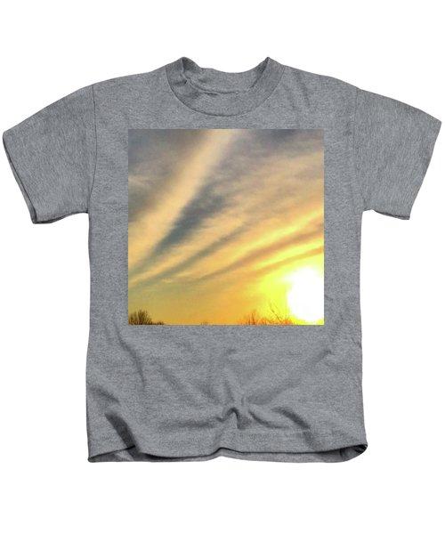Clouds And Sun Kids T-Shirt