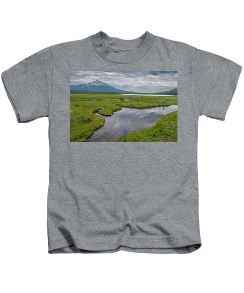 Clouds Over Sparks Kids T-Shirt