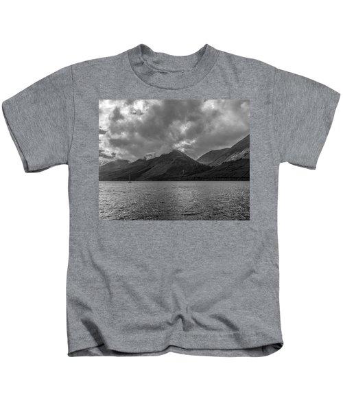 Clouds Over Loch Lochy, Scotland Kids T-Shirt