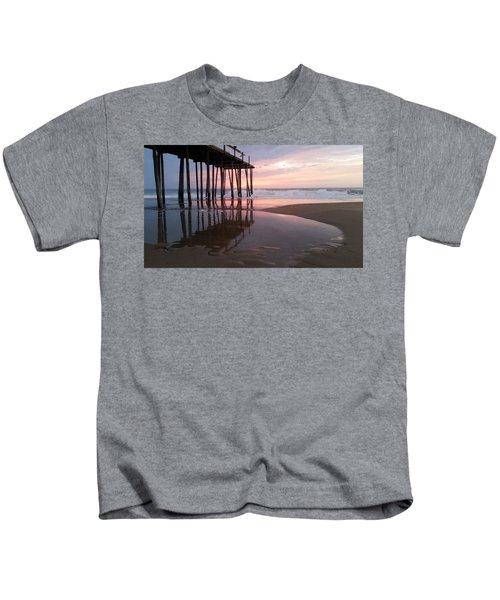 Cloudy Morning Reflections Kids T-Shirt