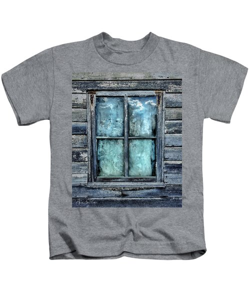 Cloudy Window Kids T-Shirt