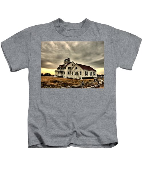 Coast Guard Beach Station Kids T-Shirt