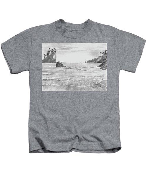 Coastal Beach Kids T-Shirt