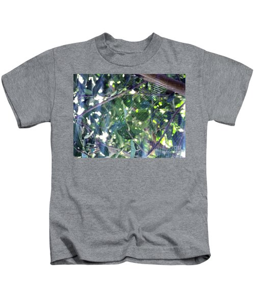 Cobweb Tree Kids T-Shirt