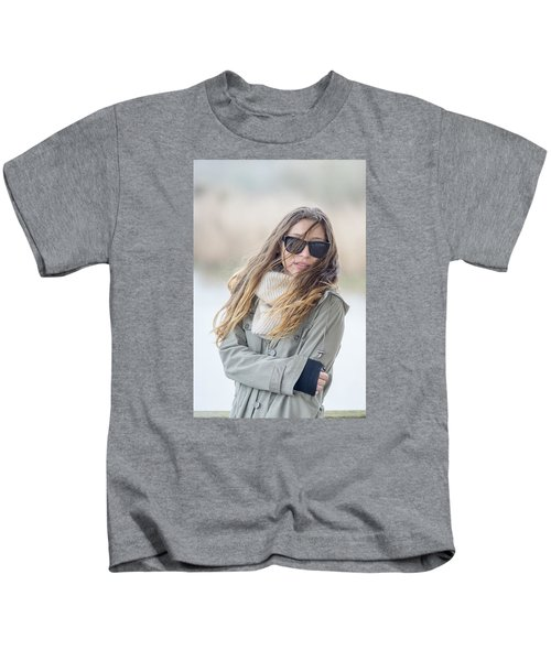 Cold And Windy Kids T-Shirt
