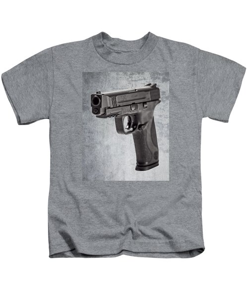 Cold, Blue Steel Kids T-Shirt