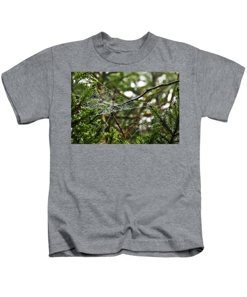 Collecting Raindrops Kids T-Shirt