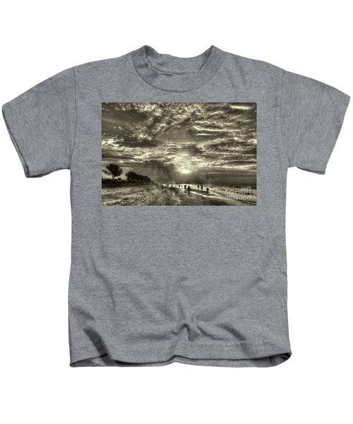 Collecting Seashells On Sanibel Island Kids T-Shirt