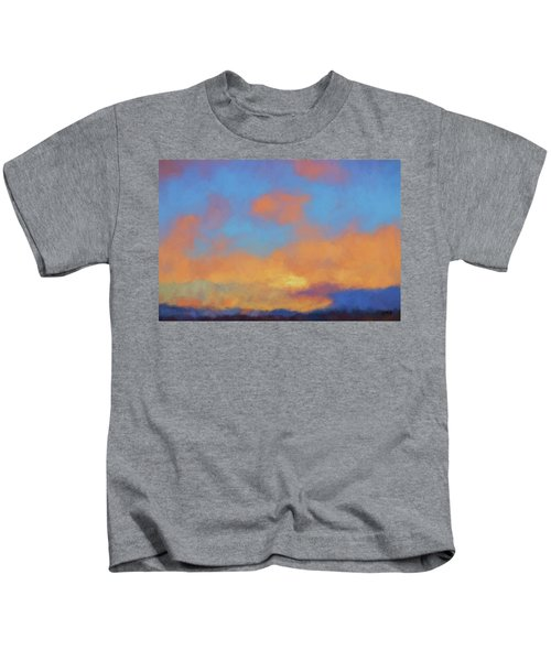 Color Abstraction Lvii Kids T-Shirt