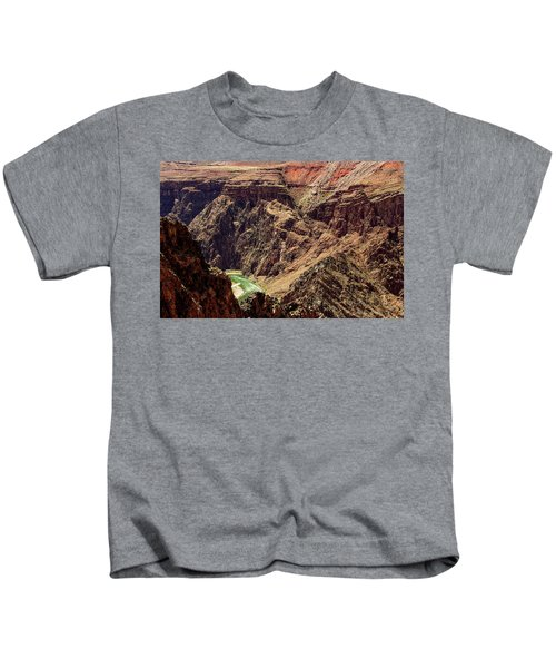 Colorado River From The South Kaibab Trail Kids T-Shirt