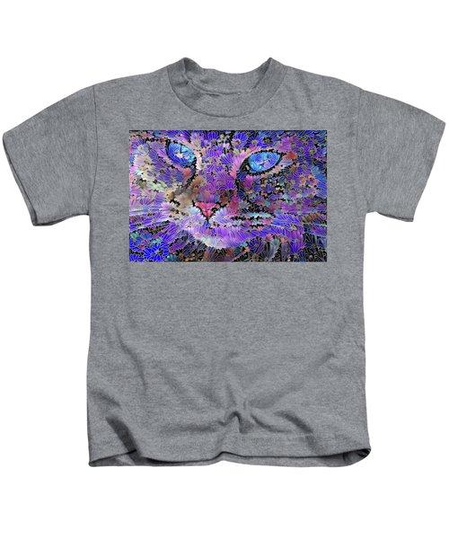 Flower Cat 2 Kids T-Shirt