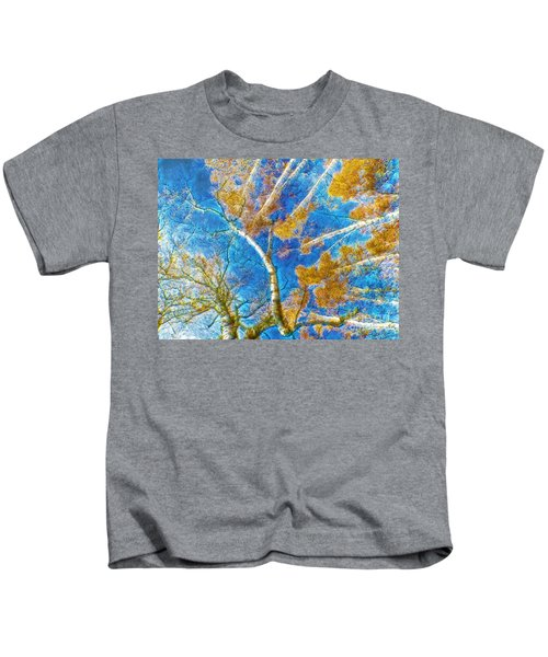 Colorful Mystical Forest Kids T-Shirt
