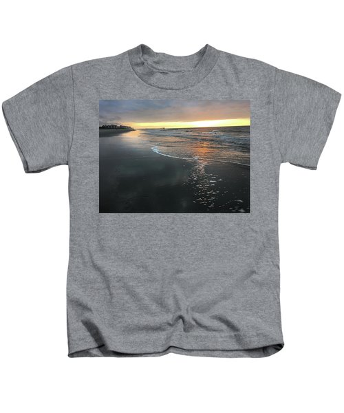 Colors Of A Storm At Sunrise Kids T-Shirt