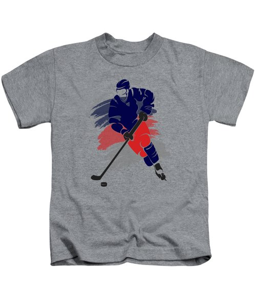 Colubus Blue Jackets Player Shirt Kids T-Shirt