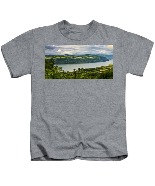 Columbia Gorge Scenic Area Kids T-Shirt