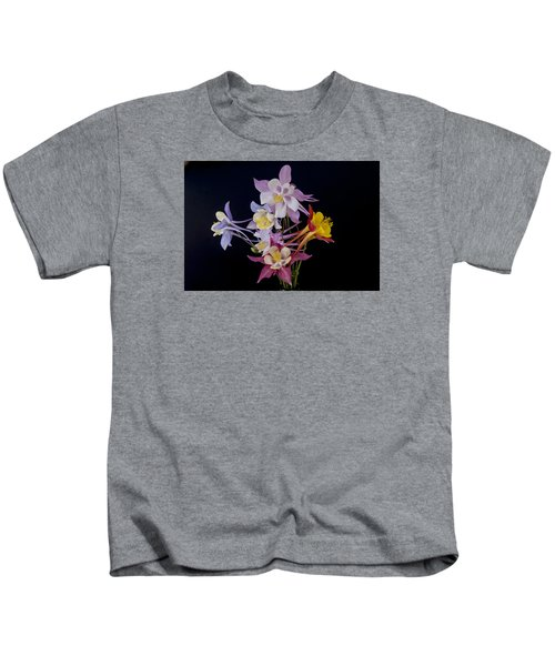 Columbine Medley Kids T-Shirt