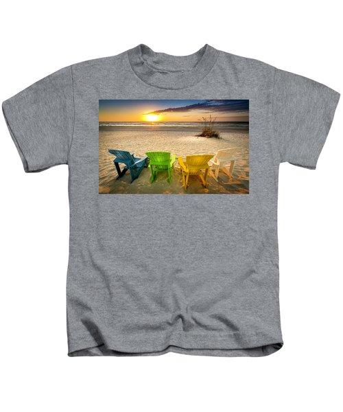 Come Relax Enjoy Kids T-Shirt