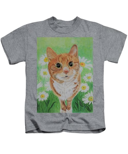 Coming Up Daisies Kids T-Shirt