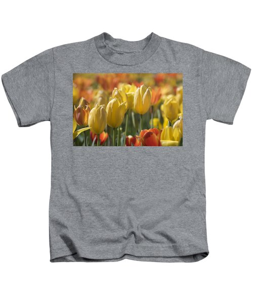 Coming Up Tulips Kids T-Shirt