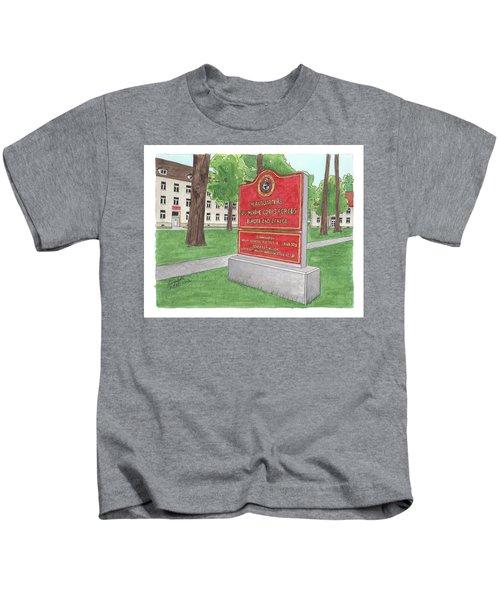 Commander Major General Russell A. Sanborn - Marforeuraf Kids T-Shirt