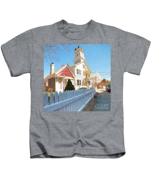 Commercial St. #3 Kids T-Shirt