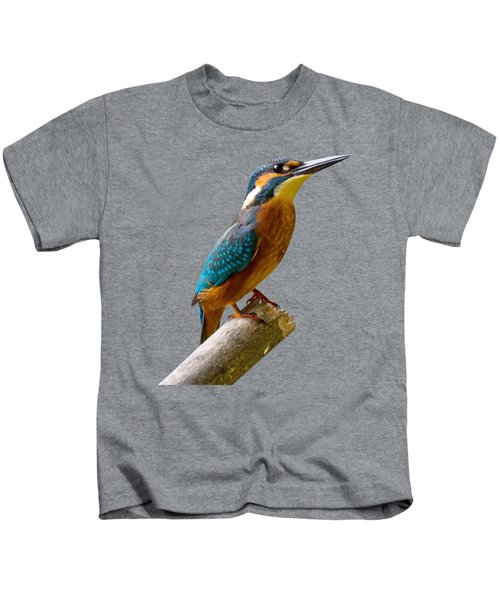 Common Kingfisher Alcedo Atthis Kids T-Shirt