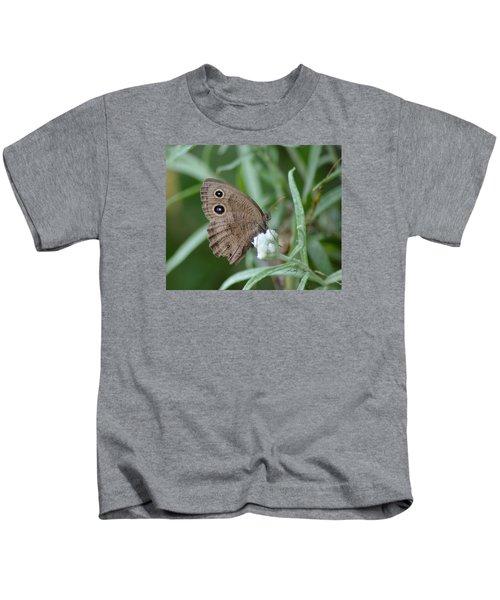 Common Wood Nymph Kids T-Shirt