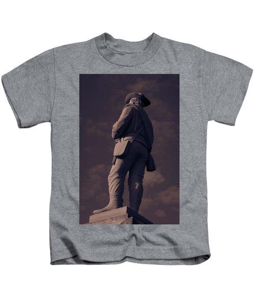 Confederate Statue Kids T-Shirt