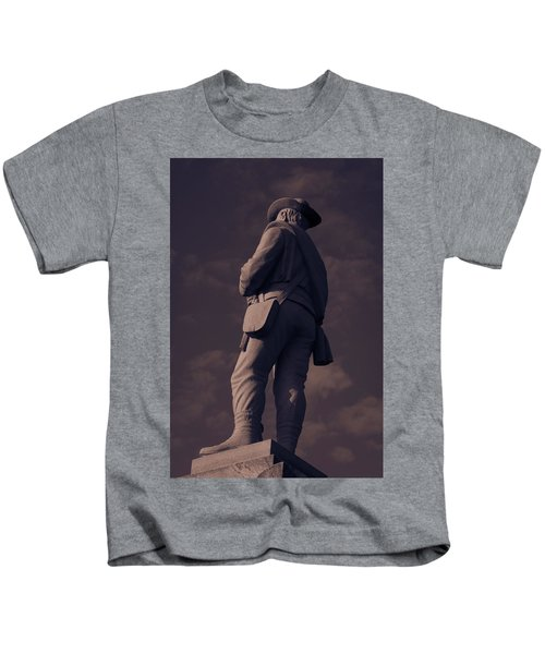 Confederate Statue Kids T-Shirt