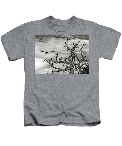 Congress Of Vultures Kids T-Shirt