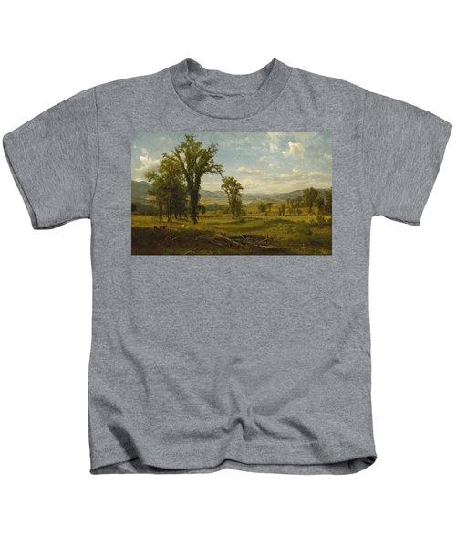 Connecticut River Valley, Claremont, New Hampshire Kids T-Shirt