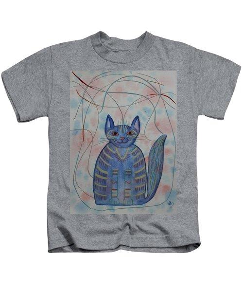 Connection Cat  Kids T-Shirt