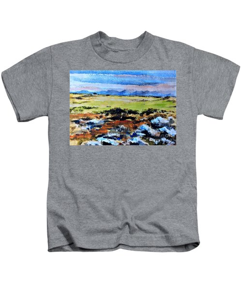 F  801  Connemara Golf, Ballyconneely, Galway Kids T-Shirt