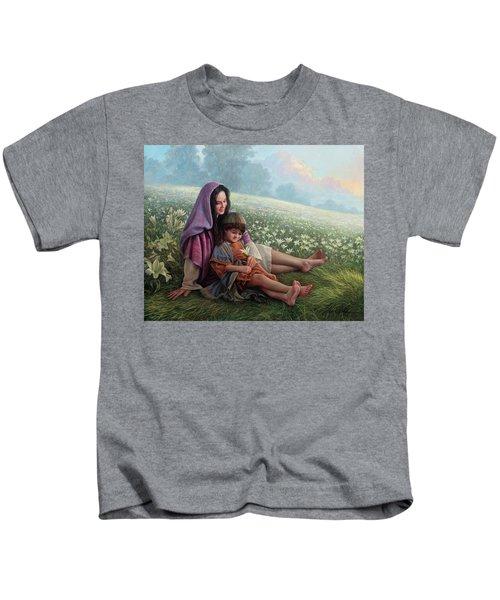 Consider The Lilies Kids T-Shirt