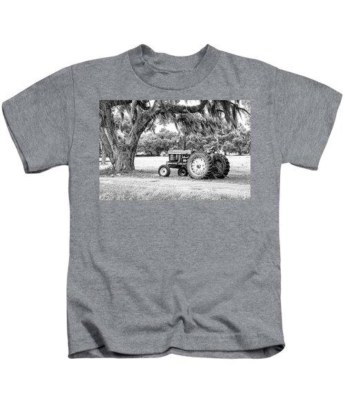 Coosaw - John Deere Parked Kids T-Shirt