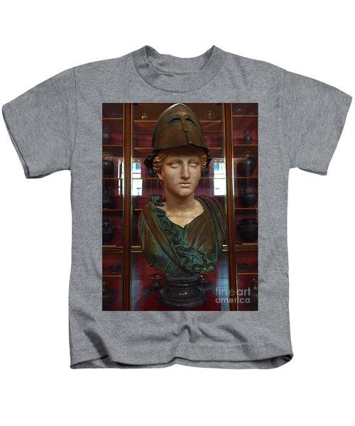 Copper Bust In Rome Kids T-Shirt