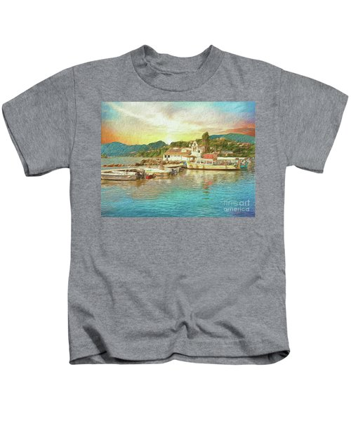 Corfu 30 My Passion Paintography Kids T-Shirt