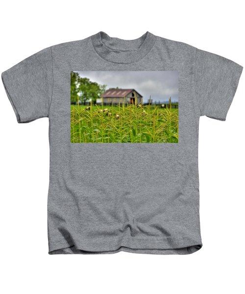Corn Tops Kids T-Shirt
