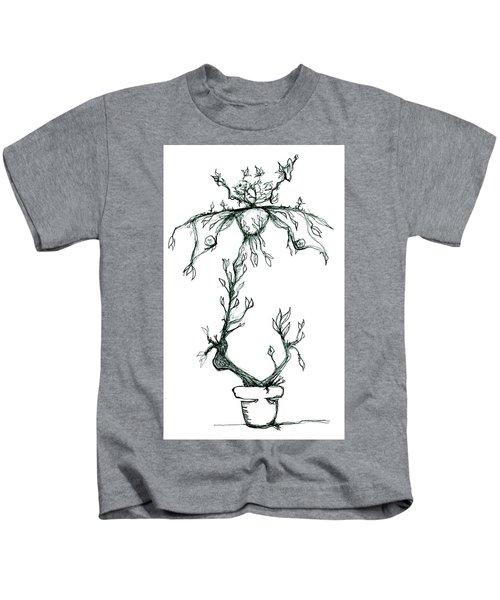 Corporate Cracked Pet Kids T-Shirt
