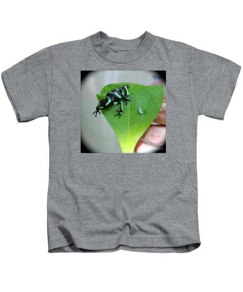 Costa Rican Poison Dart Frog Kids T-Shirt