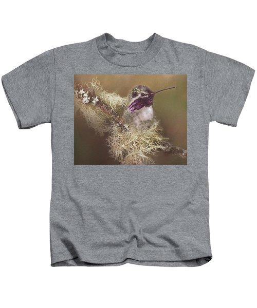 Costas Hummingbird Painted Kids T-Shirt