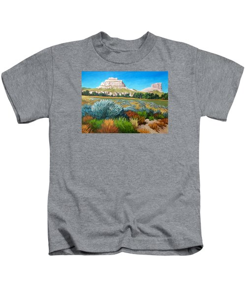 Courthouse And Jail Rocks 2 Kids T-Shirt