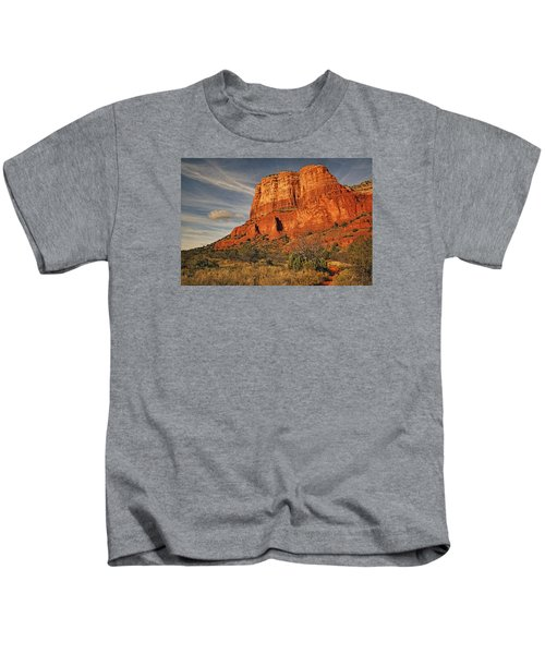 Courthouse Butte Txt Kids T-Shirt