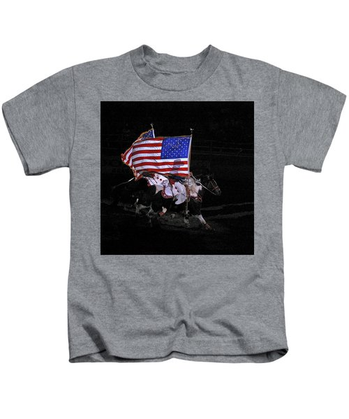 Cowboy Patriots Kids T-Shirt