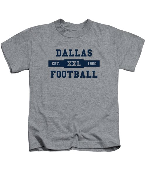 Cowboys Retro Shirt Kids T-Shirt by Joe Hamilton