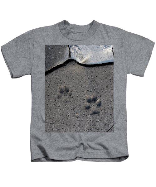 Coyote Tracks Kids T-Shirt