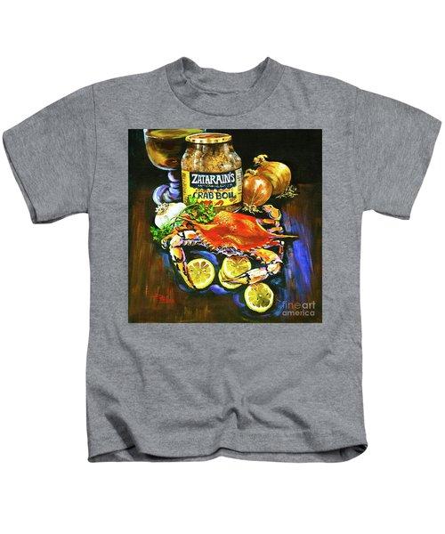 Crab Fixin's Kids T-Shirt